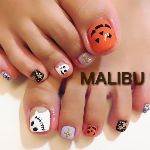 Halloween-Toe-Nail-Art-Designs-2020-5