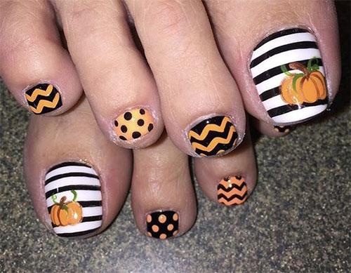 Halloween-Toe-Nail-Art-Designs-2020-6