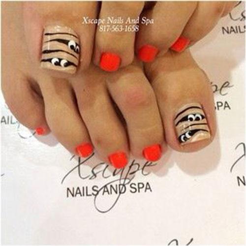 Halloween-Toe-Nail-Art-Designs-2020-8