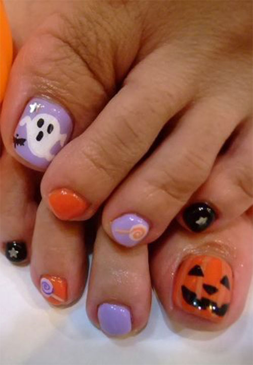Halloween-Toe-Nail-Art-Designs-2020-9