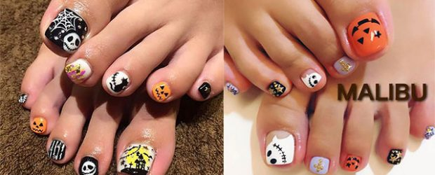 Halloween-Toe-Nail-Art-Designs-2020-F