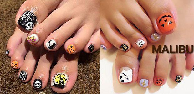 Halloween Toe Nail Art Designs 2020
