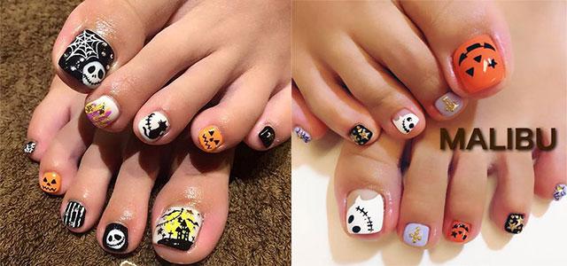 Halloween-Toe-Nail-Art-Designs-2020-F