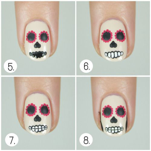 Step-By-Step-Halloween-Nail-Art-Tutorials-For-Beginners-2020-1