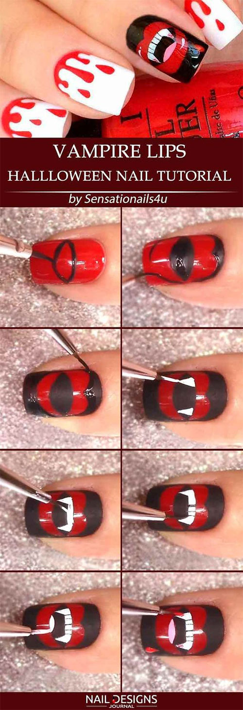 Step-By-Step-Halloween-Nail-Art-Tutorials-For-Beginners-2020-15