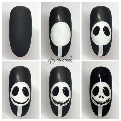 Step-By-Step-Halloween-Nail-Art-Tutorials-For-Beginners-2020-2