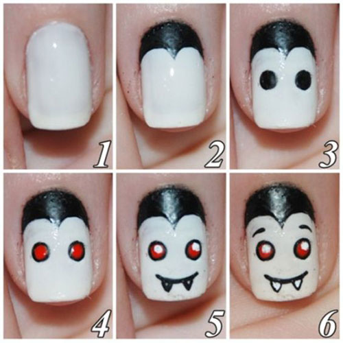 Step-By-Step-Halloween-Nail-Art-Tutorials-For-Beginners-2020-3