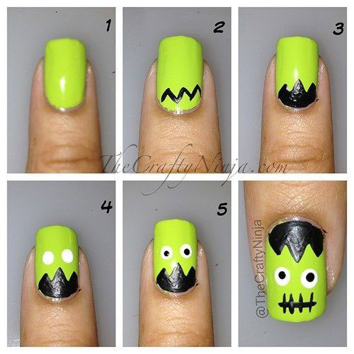 Step-By-Step-Halloween-Nail-Art-Tutorials-For-Beginners-2020-5