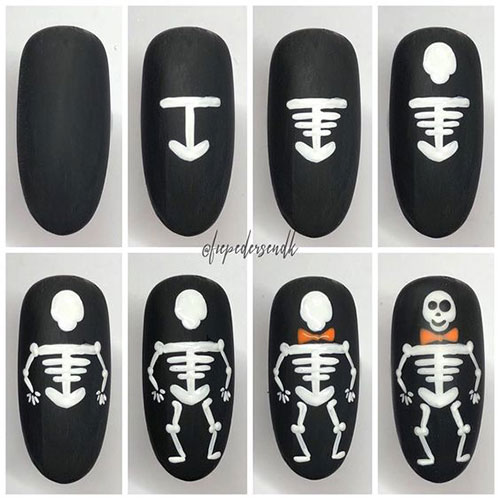 Step-By-Step-Halloween-Nail-Art-Tutorials-For-Beginners-2020-6