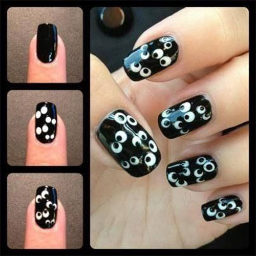 Step-By-Step-Halloween-Nail-Art-Tutorials-For-Beginners-2020-9