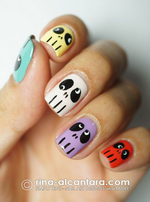 Sugar-Skull-Nail-Art-Designs-2020-Halloween-Nails-10