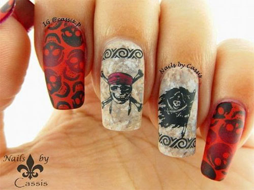 Sugar-Skull-Nail-Art-Designs-2020-Halloween-Nails-9