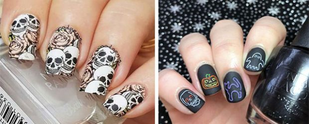 Sugar-Skull-Nail-Art-Designs-2020-Halloween-Nails-F
