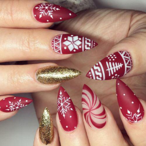 30-Festive-Christmas-Nail-Art-Ideas-2020-Holiday-Nails-16