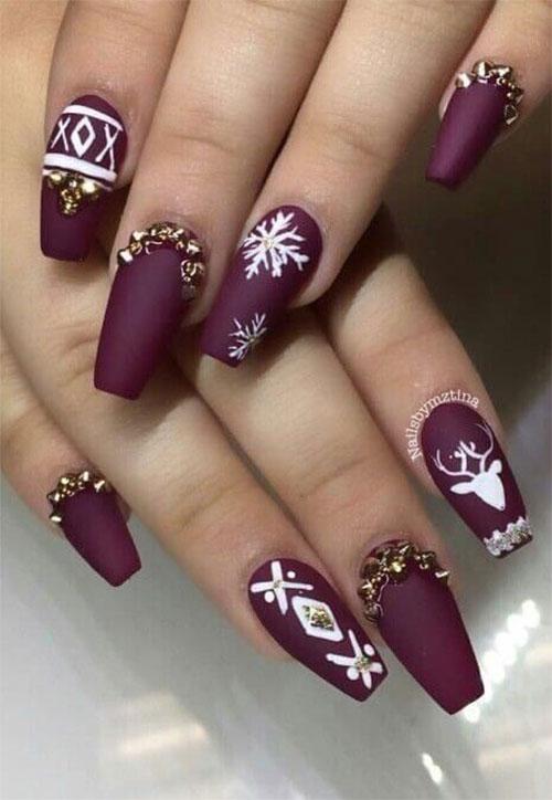 30-Festive-Christmas-Nail-Art-Ideas-2020-Holiday-Nails-19