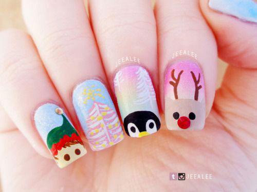 30-Festive-Christmas-Nail-Art-Ideas-2020-Holiday-Nails-21