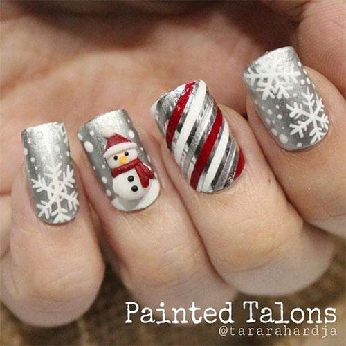 Christmas-Snowman-Nail-Art-Ideas-2020-Holiday-Nails-17