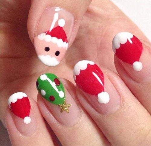 Christmas-Snowman-Nail-Art-Ideas-2020-Holiday-Nails-18