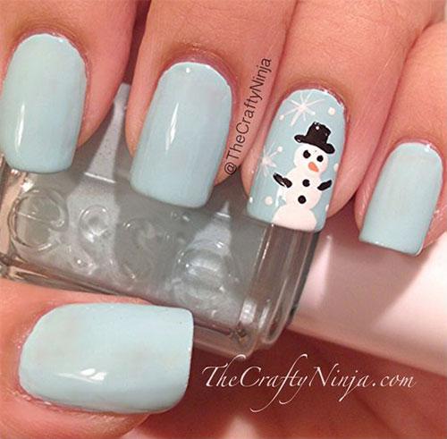 Christmas-Snowman-Nail-Art-Ideas-2020-Holiday-Nails-9