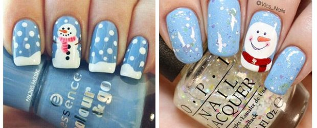 Christmas-Snowman-Nail-Art-Ideas-2020-Holiday-Nails-F
