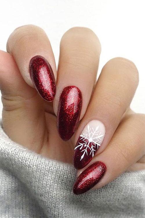 Easy-Christmas-Nails-Art-Designs-2020-Xmas-Nails-11