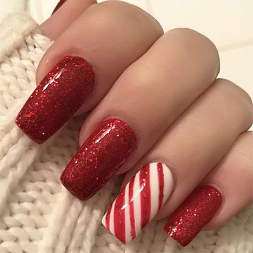 Easy-Christmas-Nails-Art-Designs-2020-Xmas-Nails-14