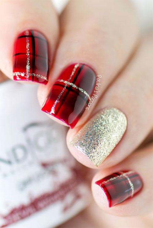 Easy-Christmas-Nails-Art-Designs-2020-Xmas-Nails-7