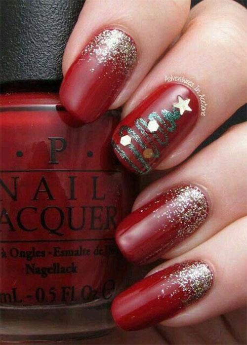 Easy-Christmas-Nails-Art-Designs-2020-Xmas-Nails-9