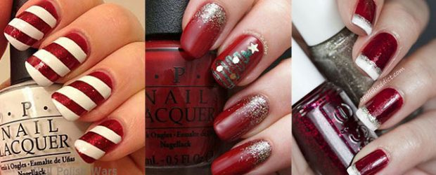 Easy-Christmas-Nails-Art-Designs-2020-Xmas-Nails-F