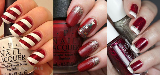 Easy-Christmas-Nails-Art-Designs-2020-Xmas-Nails-F