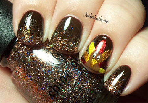 Easy-Simple-Thanksgiving-Nail-Art-2020-4