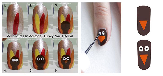 Step-By-Step-Thanksgiving-Nail-Art-Tutorials-2020-F