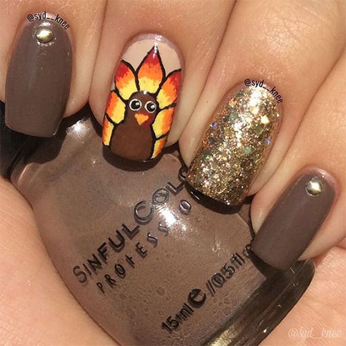 Turkey-Nail-Art-Designs-2020-Thanksgiving-Nails-10