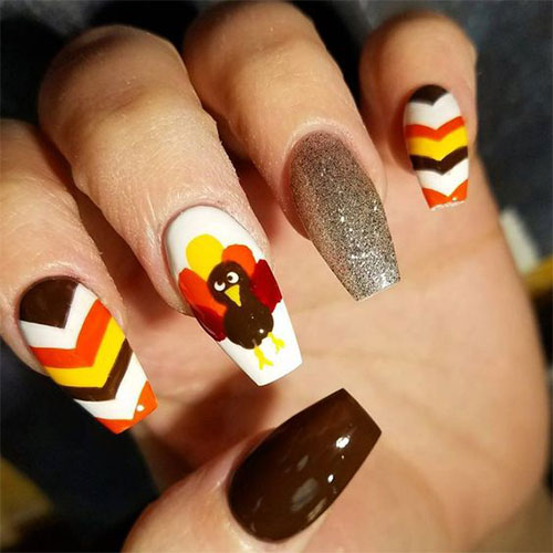 Turkey-Nail-Art-Designs-2020-Thanksgiving-Nails-11