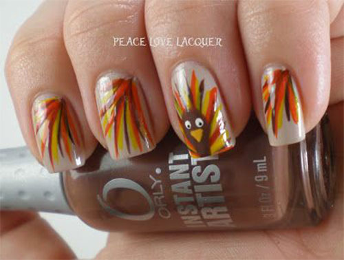 Turkey-Nail-Art-Designs-2020-Thanksgiving-Nails-5
