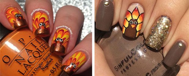Turkey-Nail-Art-Designs-2020-Thanksgiving-Nails-F