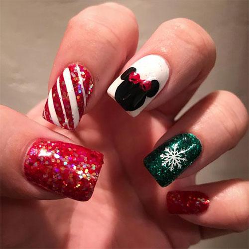 Christmas-Disney-Nails-Art-Designs-2020-Holidays-Nails-1
