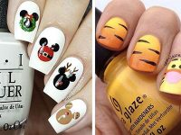 Christmas-Disney-Nails-Art-Designs-2020-Holidays-Nails-F