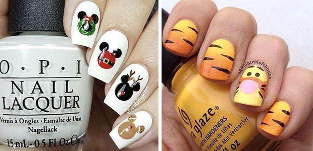Christmas Disney Nails Art Designs 2020 | Holiday Nails