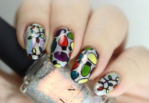 Christmas-Lights-Nail-Art-Designs-2020-Festive-Nails-8