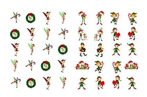 Christmas-Nail-Art-Stickers-Decals-2020-1