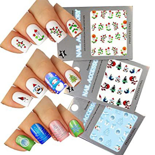 Christmas-Nail-Art-Stickers-Decals-2020-14