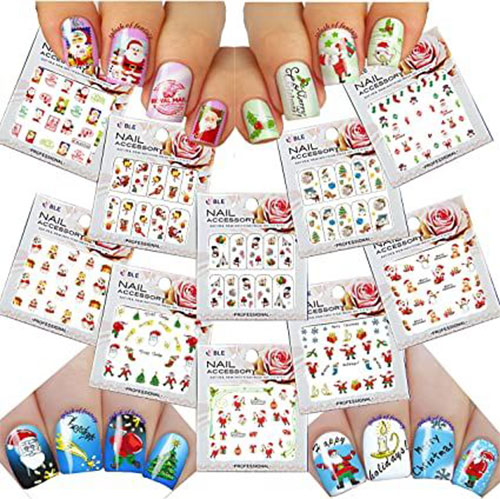 Christmas-Nail-Art-Stickers-Decals-2020-2