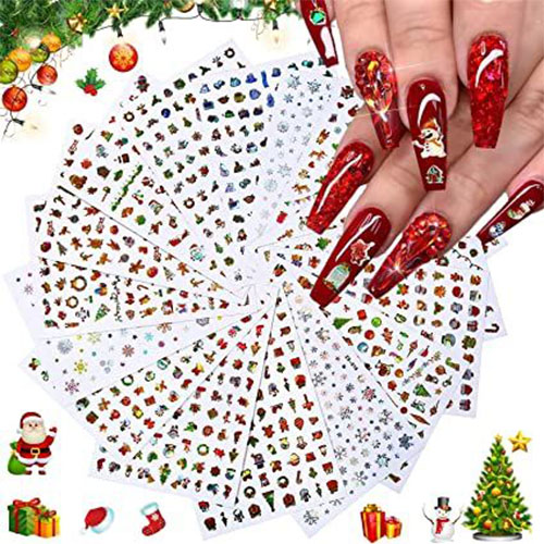 Christmas-Nail-Art-Stickers-Decals-2020-3