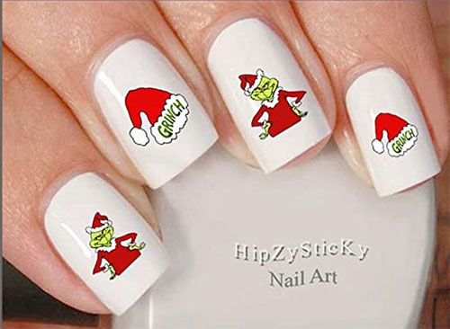 Christmas-Nail-Art-Stickers-Decals-2020-9