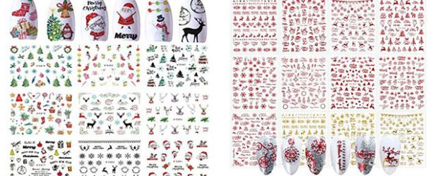 Christmas-Nail-Art-Stickers-Decals-2020-F