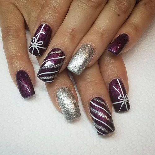 Christmas-Present-Nail-Art-Ideas-2020-Christmas-gift-Nails-13