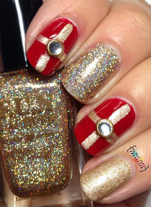 Christmas-Present-Nail-Art-Ideas-2020-Christmas-gift-Nails-3