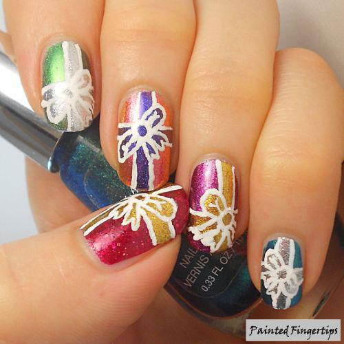 Christmas-Present-Nail-Art-Ideas-2020-Christmas-gift-Nails-6