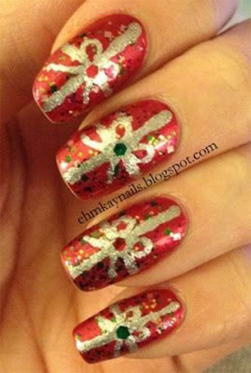 Christmas-Present-Nail-Art-Ideas-2020-Christmas-gift-Nails-8